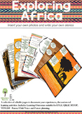 EYLF Exploring Africa Editable Pack
