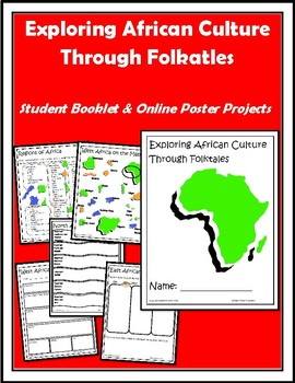 exploring africa use african folktales to create an online poster