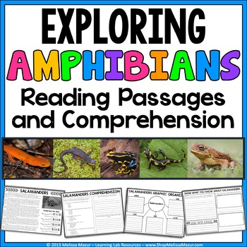 Amphibians - Reading Passages and Comprehension Activities