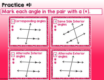 Exploring Angle Pair Relationships Parallel Lines and Transversals