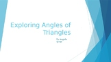 Exploring Angles of Triangles