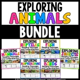 Animals Reading Passages & Comprehension Activities - BUND