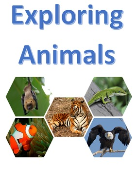 Exploring Animals and Their Adaptations Booklet