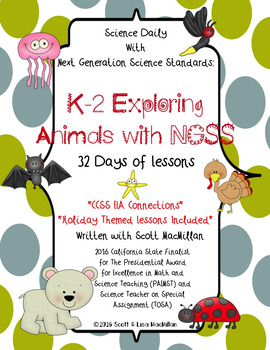 STEM - STEAM: Exploring Animals with NGSS - Printables and CCSS Connections