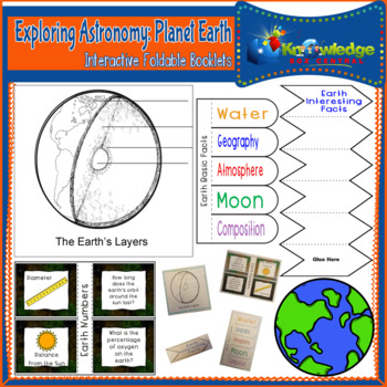 Exploring Astronomy: Planet Earth Interactive Foldable Booklets