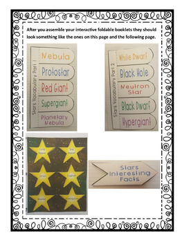 Exploring Astronomy: The Stars Interactive Foldable Booklets