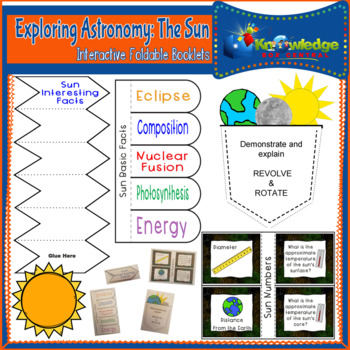 Exploring Astronomy: The Sun Interactive Foldable Booklets
