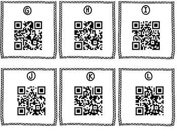 Exploring Author's Purpose with QR codes