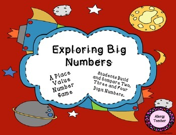Exploring Big Numbers   Place Value Math Game