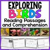 Birds - Reading Passages and Comprehension Activities | Di