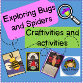 Insects and Spiders - Craftivities and Activities