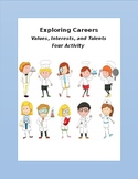 Careers, Exploring Career Worksheets, Exploring Talents, I