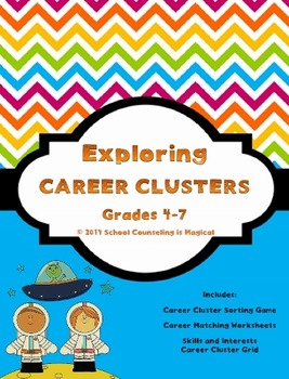 Exploring Career Clusters (upper grades)