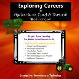 Exploring Careers:  Agriculture, Food & Natural Resources Career Cluster
