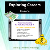Exploring Careers:  Finance