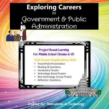 Exploring Careers:  Government & Public Administration