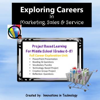 Exploring Careers:  Marketing, Sales & Service