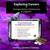 Exploring Careers:  Transportation, Distribution & Logistics