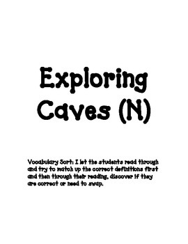 Exploring Caves (N)