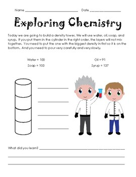 Exploring Chemistry - Density Tower