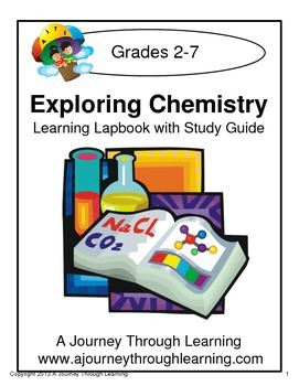 Exploring Chemistry Lapbook with Study Guide