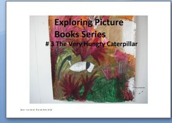 Exploring Children's Picture Books #3 The Very Hungry Caterpillar - Eric Carle