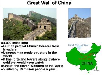 Exploring China with Our Five Senses! Promethean Flipchart