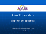 Exploring Complex Numbers