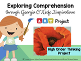 Exploring Comprehension through Georgia O'Keeffe Inspirations ART PROJECT