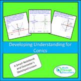 Algebra 2 - Developing Understanding for Conics