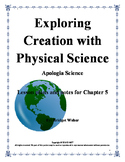 Apologia Exploring Creation with Physical Science Chapter 5 Teacher Guide