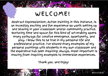 Exploring Creative Chaos! 10 Fluid Art Paintings for Classroom and Community Use