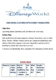 Exploring Cultues with Disney Characters