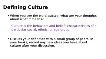 Exploring Culture and Communication
