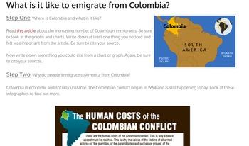Exploring Culture and Immigration Webquest