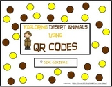 Desert Animals (animal habitat) with QR codes