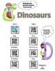 Dinosaurs using QR Codes