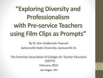 Exploring Diversity and Professionalism