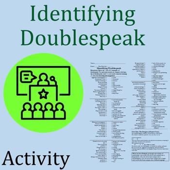 Identifying Doublespeak Activity