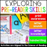 Exploring Early Literacy: Print Awareness, Letter Knowledg