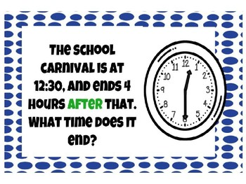Exploring Elapsed Time to Five Minutes PowerPoint and Exit Ticket