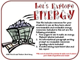 Exploring Energy: Renewable and Nonrenewable Resources