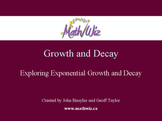 Exploring Exponential Growth and Decay