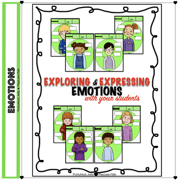 Exploring Expressing Emotions Non Verbal Body Language Worksheets