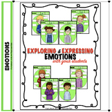 Exploring & Expressing Emotions: Non-Verbal Body Language Worksheets