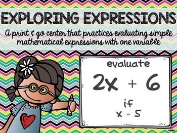Exploring Expressions Center