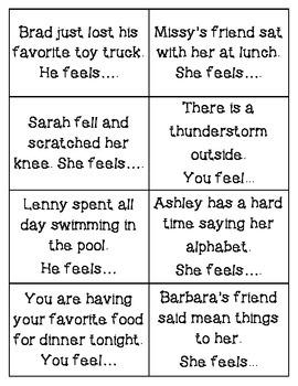 Exploring Feelings with Scenarios!