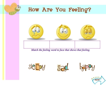 Exploring Feelings with your Smartboard