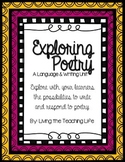 Exploring Figurative Language & Poetry Unit
