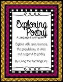 Exploring Figurative Language & Poetry Unit